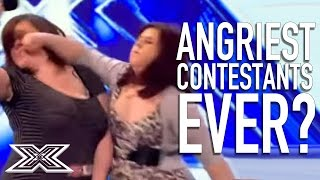Angriest Contestants EVER?   X Factor Global