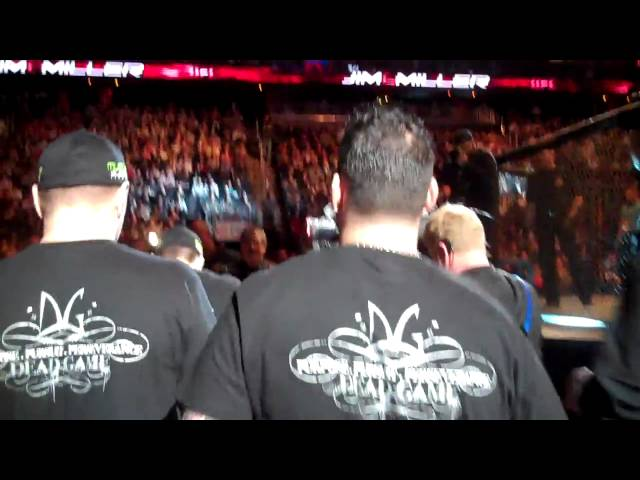 Jim Miller AMA Fight Club Walk out: MMA In New Jersey