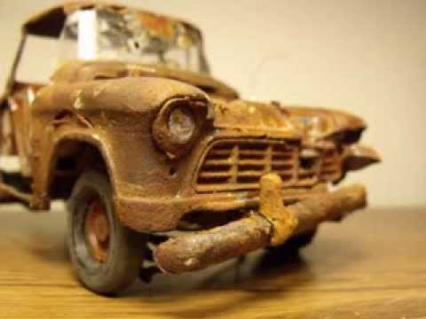 Rusted 1955 Chevy pickup Music Videos