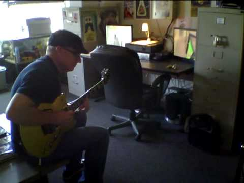 Downtown rehearsal Los Angeles Chris Poland testing out the ugly 18 combo in his office