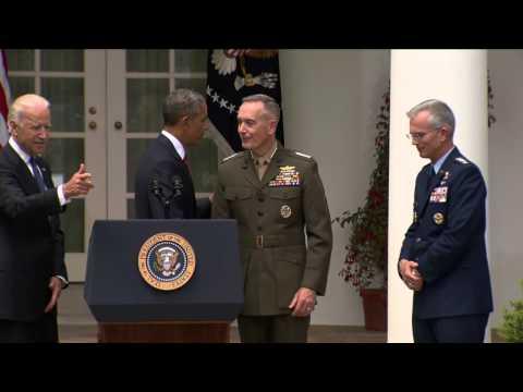 Obama designó a Joseph Dunford como Jefe de Estado Mayor 05-05-15