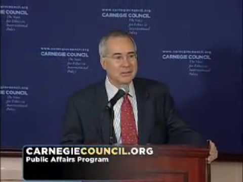 Nicholas Stern: Global Climate Change