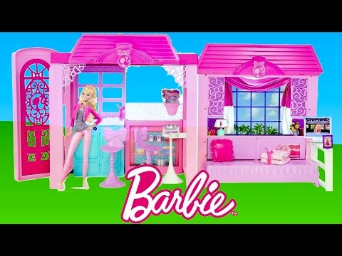 Barbie Glam Vacation House unboxing and Tour | TheChildhoodLife