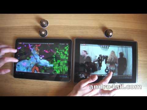 Samsung Galaxy Tab 10.1V vs Asus Eeepad Transformer
