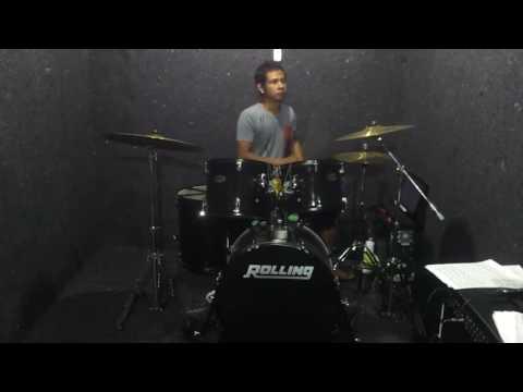 Hello Ular berbisa Drum cover by Novigita (Official video)