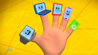 Electronics Finger Family   Nursery Rhymes Songs   Kids Rhymes   Baby Song