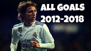Luka Modric 13 Goals ● Real Madrid   2012-2018