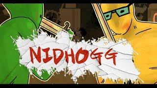 추억의 '놈'게임 캐릭터가 펜싱칼을 들었다! 초괴와 니드호그 Nidhogg