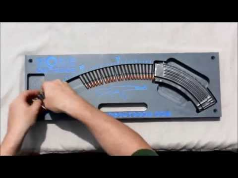 AK-47 Speed Loader - Loads 30 Rounds in seconds - Painlessly