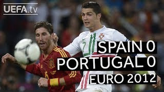 INIESTA, RONALDO, WORLD CUP 2018: SPAIN beats PORTUGAL on penalties to reach the EURO 2012 final!