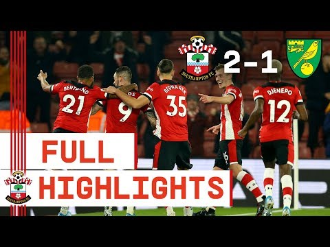 HIGHLIGHTS Southampton 2-1 Norwich City  Premier League