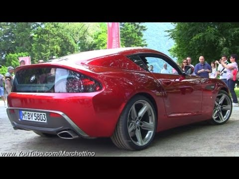 BMW Zagato Coupè SOUND! - World Debut
