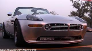 BMW Z8 LOUD Hamann Exhaust Sound!
