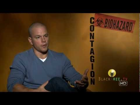 Matt Damon talks Germs, Viruses & Conspiracies for 'Contagion'