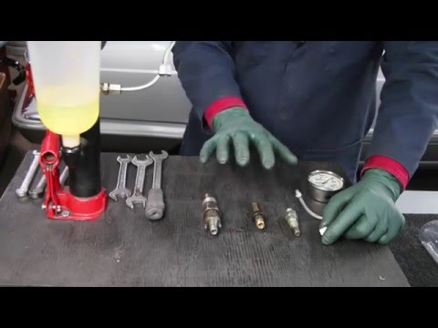 Mechanical Bosch Gas and Diesel Fuel Injector Testing and Fume Containment System