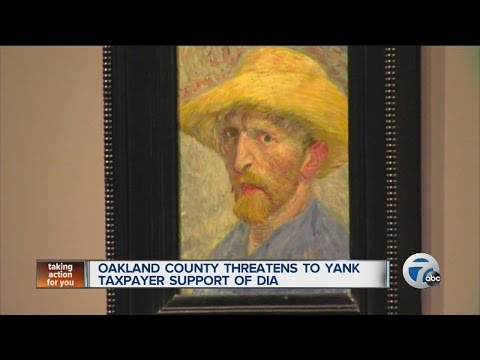 Oakland County threatens to yank taxpayer support of DIA