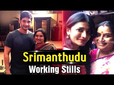 Mahesh Babu Srimanthudu Movie Working Stills   Shruti Hassan   DSP   Koratala Siva