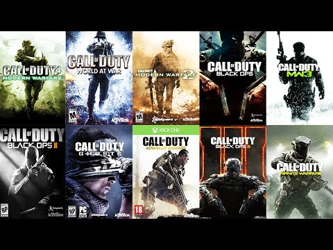 TOP 10 CALL OF DUTY Games from WORST to BEST