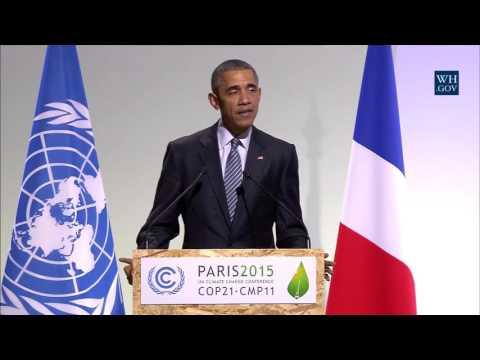 Obama's Paris Climate Talks Opening Remarks - Full Speech