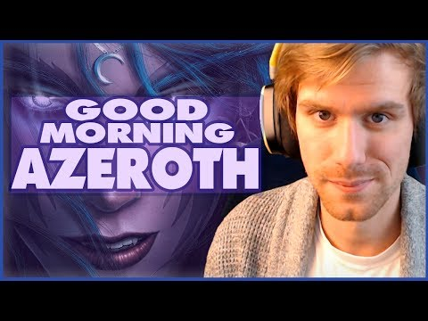GOOD MORNING AZEROTH | PATCH 7.3 ARGUS PTR - New Story!  | World of Warcraft Legion