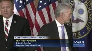 Trey Gowdy Beghazi Report Full Press Conference 6/28/16 - House Select Committee