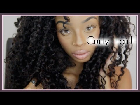 My Curly Hair !!! /Aliexpress Luvin Hair Review/