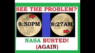 Absolute PROOF- Moon Phases NOT Due To The SUN!