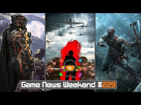 Игровые Новости — Game News Weekend #229 | (Anthem, Battalion 1944, God of War 4, Prince of Persia)