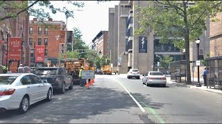 Driving Downtown - Yale 4K - USA
