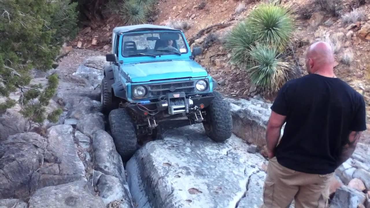 Ranch Jeep >> suzuki samurai rock crawling at chili challenge 2012 #16 - YouTube