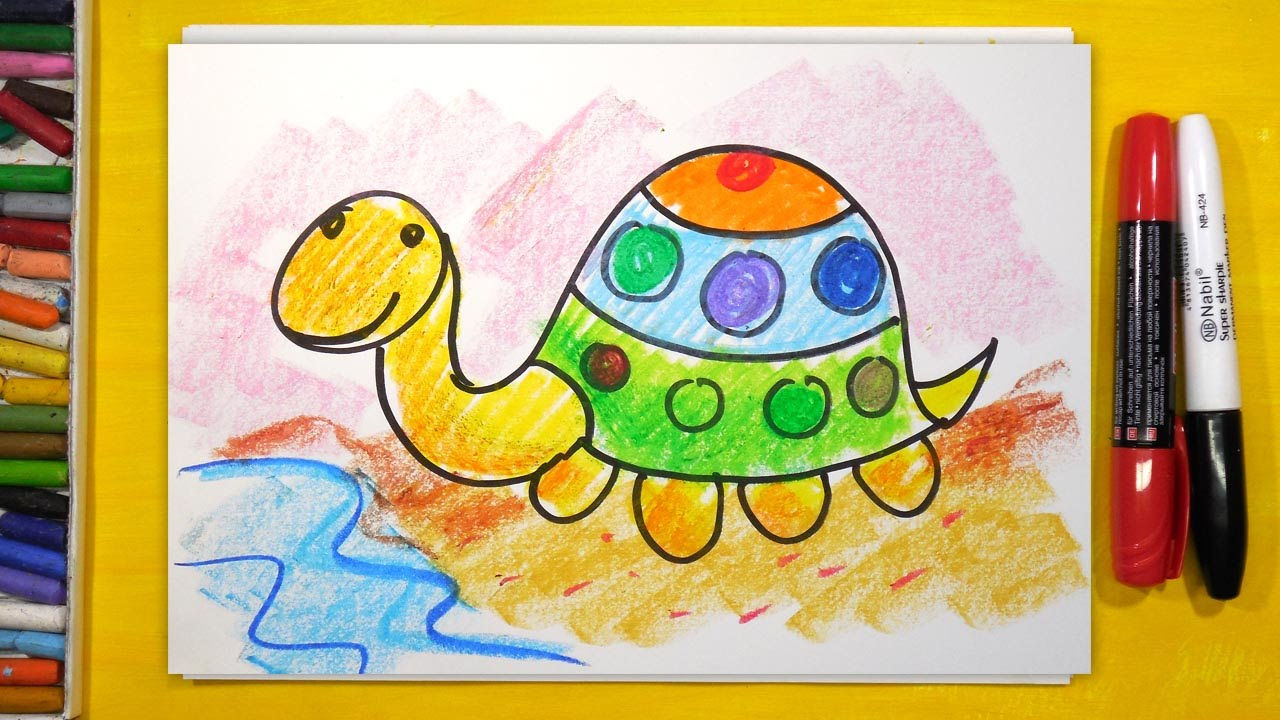 Смотреть рыба кит папа рисует