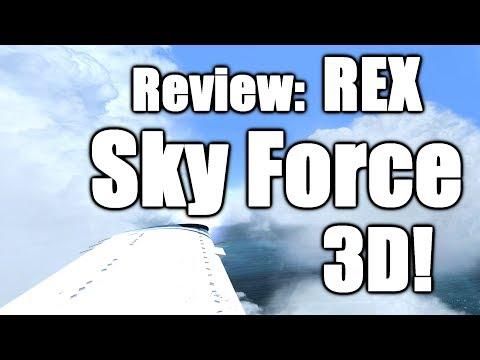 REX Sky Force 3D Full Review & Walkthrough! [P3D V4]