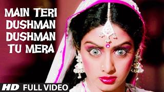 'Main Teri Dushman, Dushman Tu Mera' Full VIDEO Song | Nagina | Rishi Kapoor, Sridevi