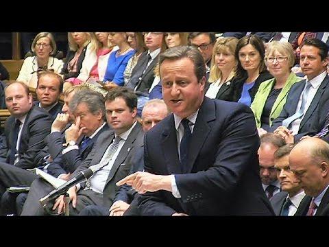 """David Cameron alla Camera dei Comuni: """"Serve tempo per uscire dall'Ue"""""""