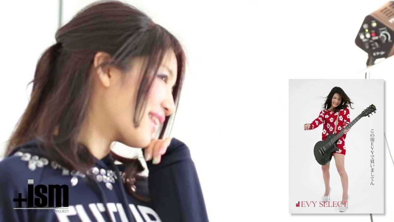 仲西杏里 × 写メ.jp × EVYメインビジュアル撮影【メイキング映像】