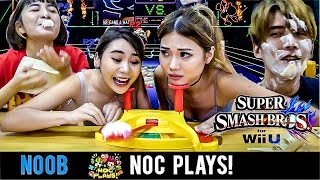 NOC Plays Super Smash Bros! (Pie Face Showdown)