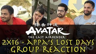 Avatar: The Last Airbender -  2x16 Appa's Lost Days - Group Reaction