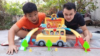 Trò Chơi Xe Đa Năng ❤ ChiChi ToysReview TV ❤ Đồ Chơi Trẻ Em Baby Doli