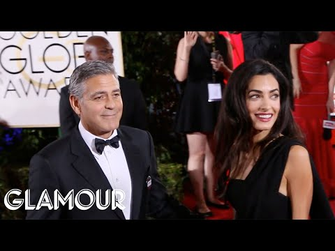 Celebs Talk Fashion, Fan Crushes on the Golden Globes Red Carpet – Glamour