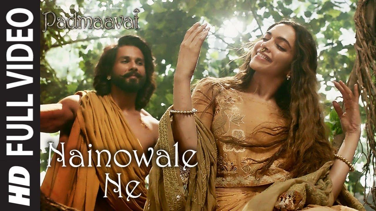Nainowale Ne Full Video Song | Padmaavat | Deepika Padukone | Shahid Kapoor | Ranveer Singh
