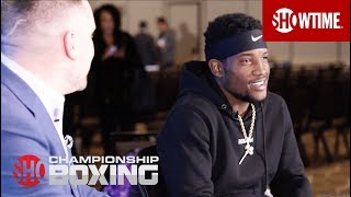 "Erickson Lubin Plans on ""Winning Impressively"" Against Ishe Smith 