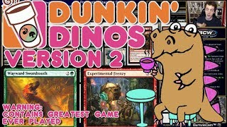 It's Evolution Baby! Version Two of Dunkin' Dinos (Including The Greatest Game Ever Played)