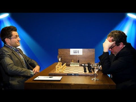 Levon Aronian vs. Boris Gelfand - 2013 FIDE Candidates Chess Tournament - Round 2