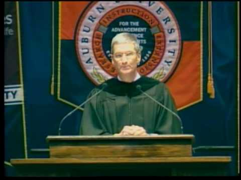 Auburn University Spring 2010 Commencement Speaker Tim Cook