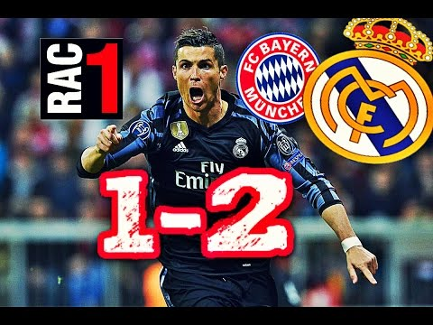 AUDIO RAC1 | BAYERN MUNICH 1-2 REAL MADRID | COMPLETO | UCL thumbnail