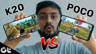 Poco F1 vs Redmi K20 PUBG Comparison | Best For Gamers? | GT Gaming