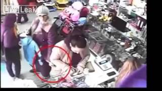 thief caught on camera