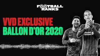 Does VVD Wear Aftershave in Games? | Ballon d'Or 2020 Contenders | B/R Football Ranks