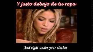 Shakira Video - Shakira - Underneath Your Clothes Subtitulado Español Ingles