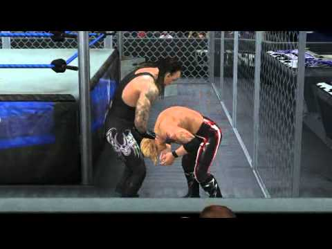 WWE SVR 2011 how to get out of hell in a cell